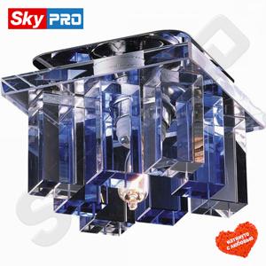 Точечный светильник Novotech Карамель 2 синий