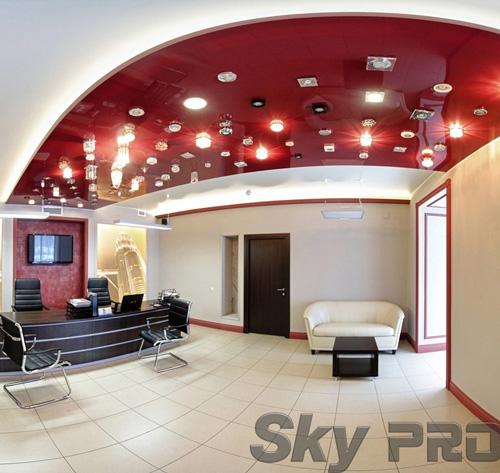 светильники в офисе SkyPRO в Острове